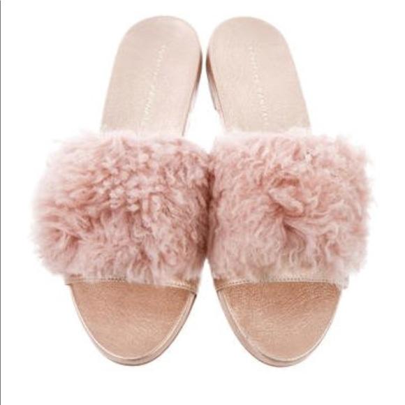 Loeffler Randall Shoes - Loeffler Randall Domino shag slide